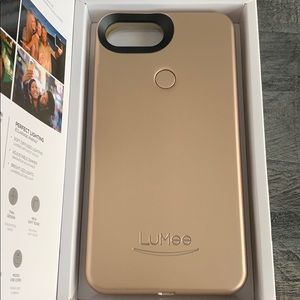 Gold LuMee two phone case